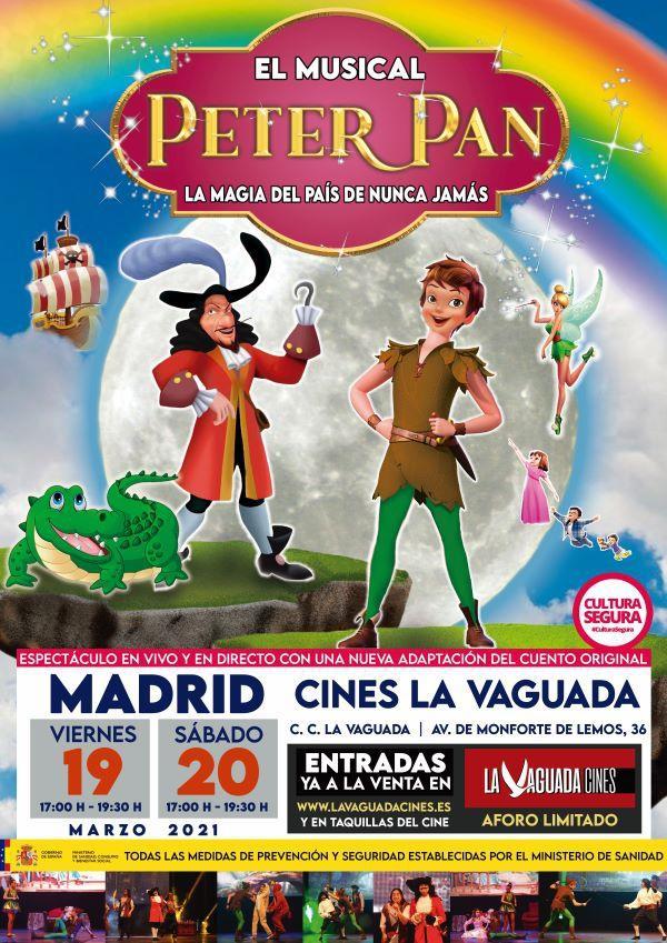 PETER PAN EL MUSICAL, la magía del país de Nunca J