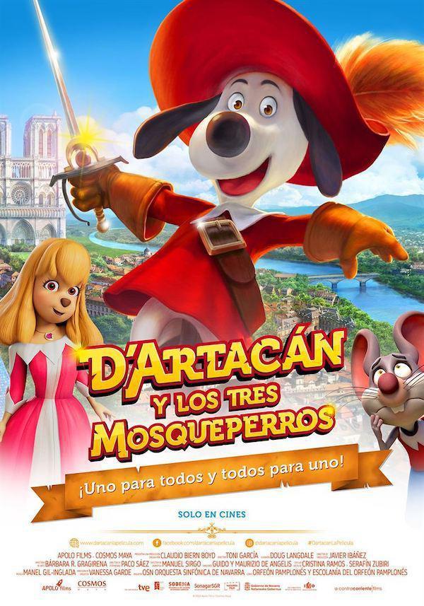 DARTACÁN Y LOS TRES MOSQUEPERROS